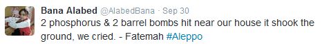 "Twitter Account of ""7yo Girl from Aleppo"" Spread Pro-Militant Propaganda"